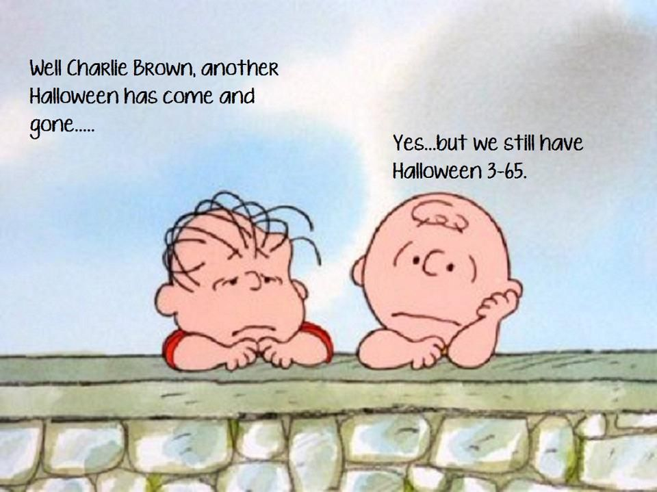 Halloween Is Over With Images Charlie Brown Charlie