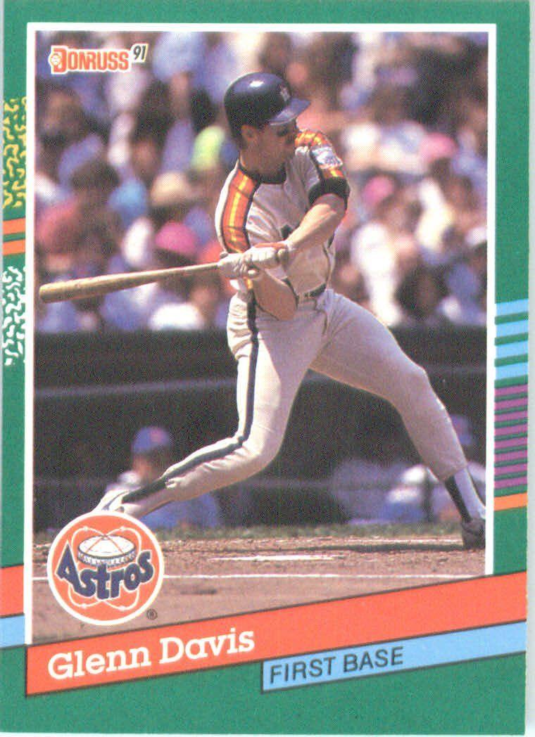 Glenn Davis Baseball Cards Mlb Players Glenn Davis