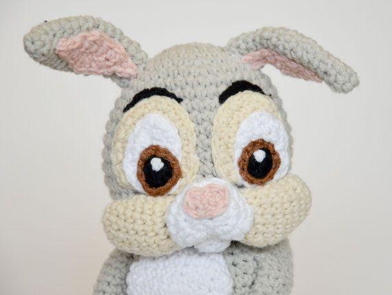 Crochet PATTERN - Easter Thumper rabbit by Krawka | Pinterest