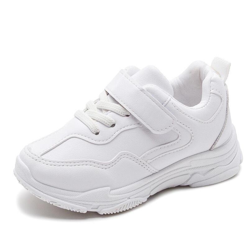 Boys School Shoes Kids Toddlers Leather Look Trainers Formal Wedding Casual New