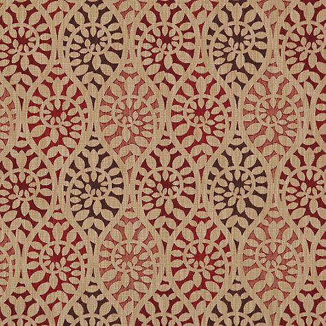 John Lewis Amp Partners Valera Leaf Furnishing Fabric Red