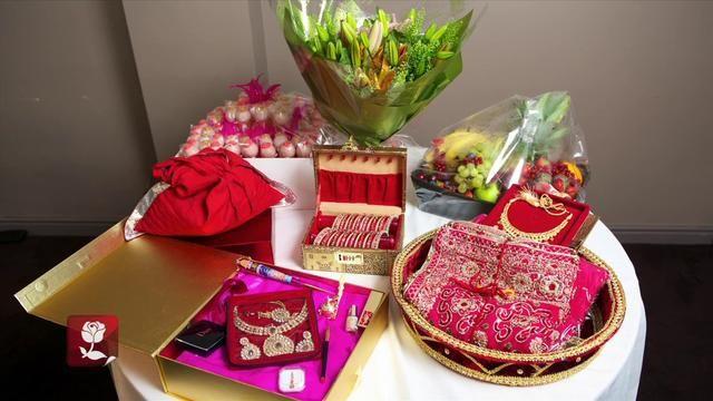 Amrit And Manraj S Chunni Engagement Decorations Ceremony