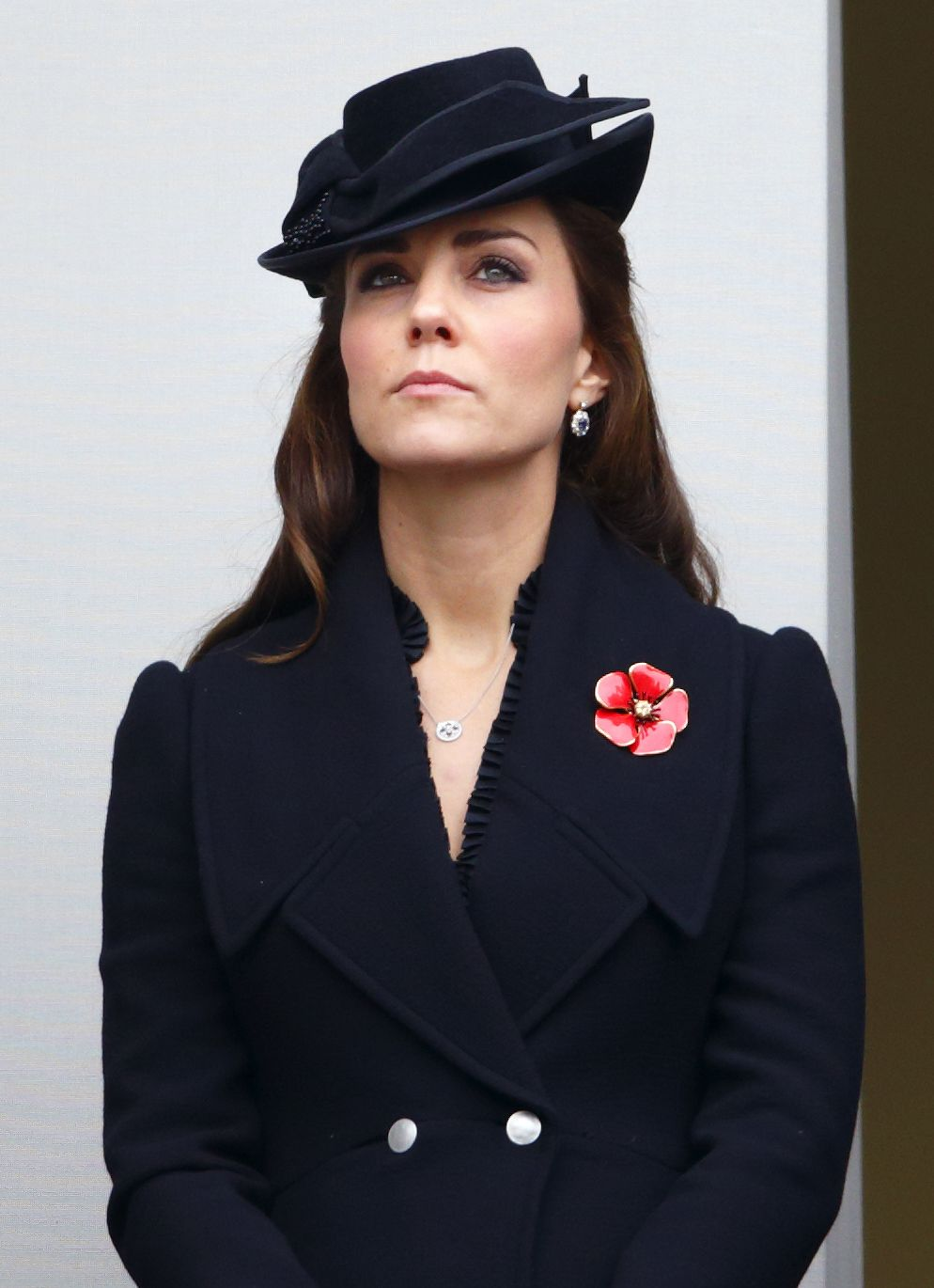 Duchess Kate attends the annual Remembrance Sunday Service to honor the contributions of British military servicemen and women, Nov. 9, 2014 - Max Mumby/Indigo/Getty Images