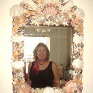 Bust Seashell Mannequin Head Pearl par SandisShellscapes sur Etsy