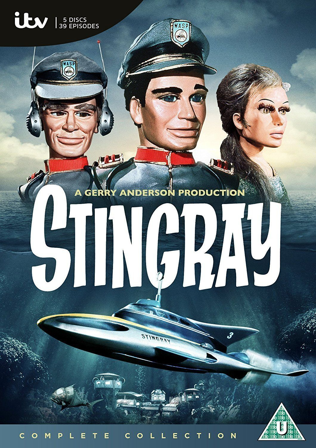 Stingray The Complete Collection Dvd Region 2 Gerry Anderson Stingray Old Tv Shows