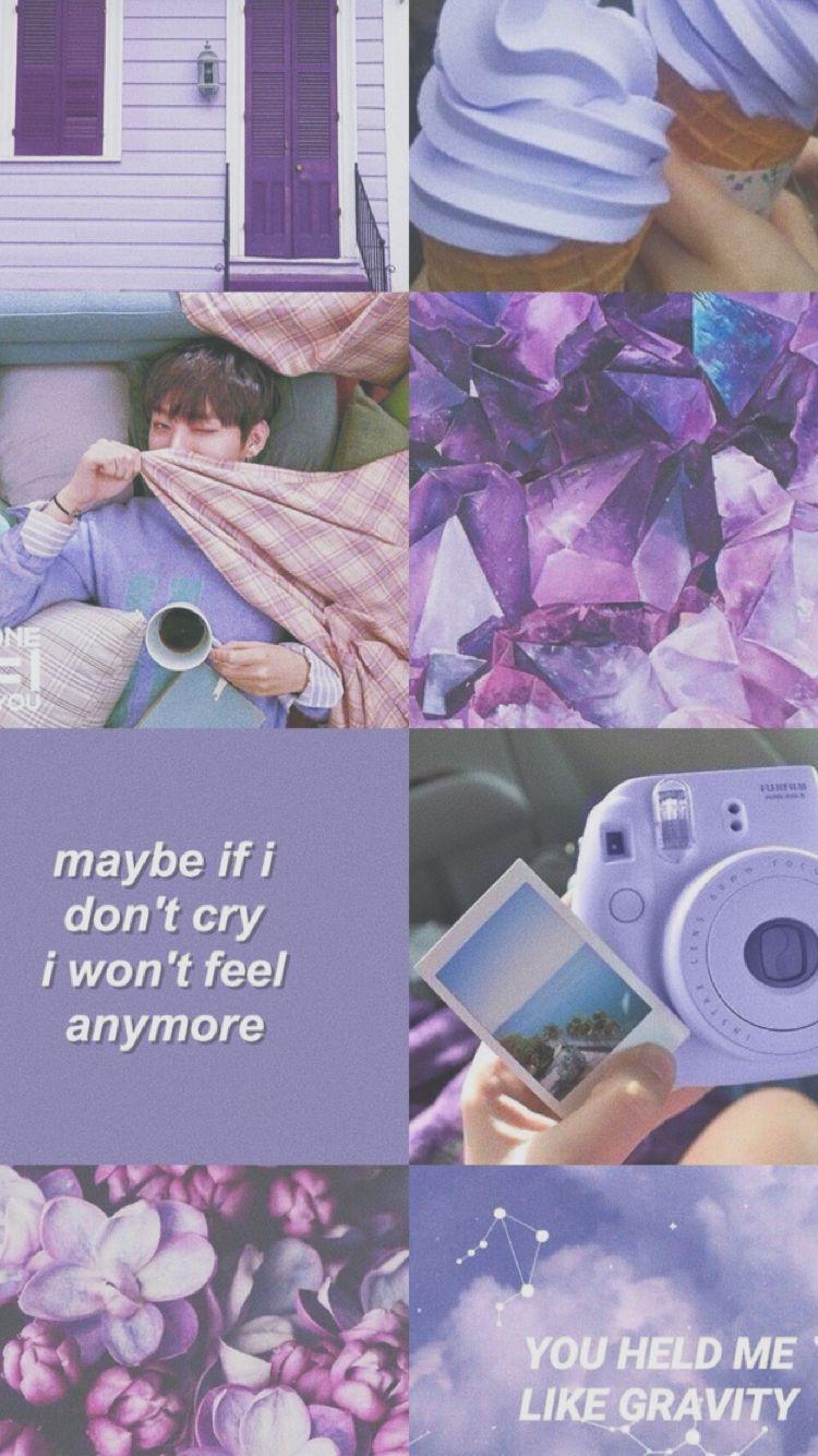 Aestheticedits Purple Iphone Wallpaper Tumblr Aesthetic