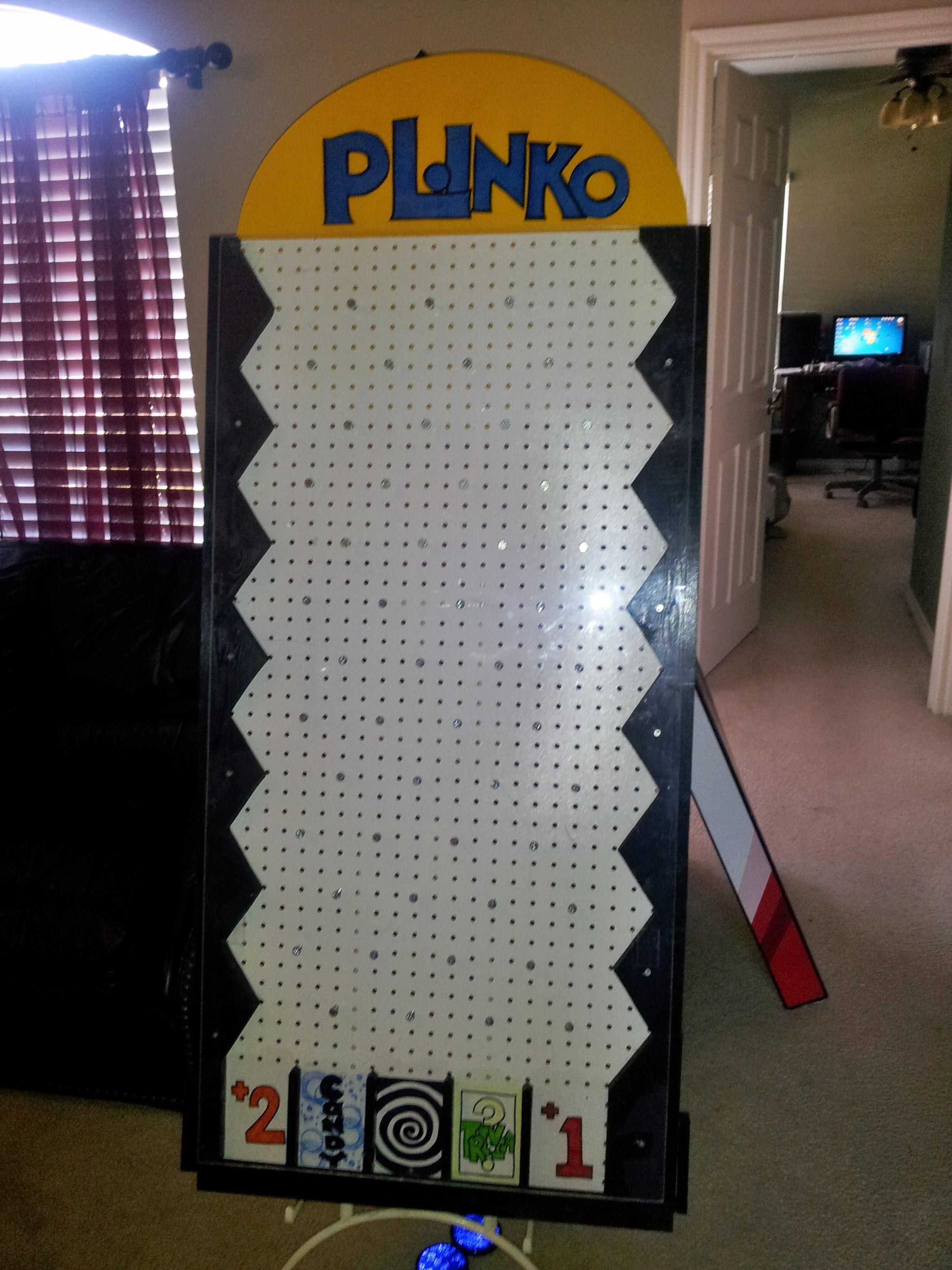 Plinko game construction pinterest plinko game gaming and carnival diy plinko game instructions solutioingenieria Choice Image