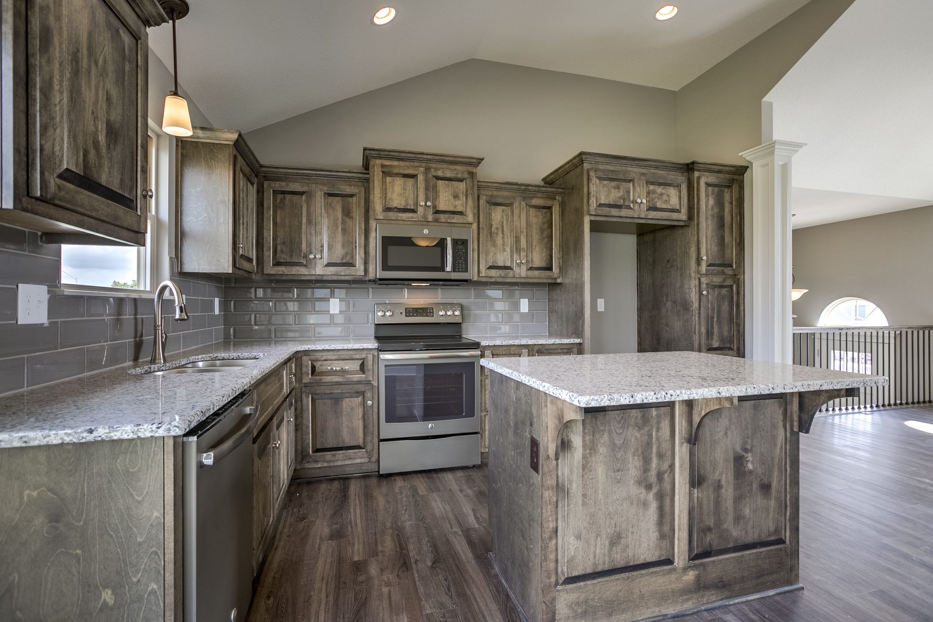 Contemporary With Medallion Appaloosa Finish Copper River Cabinet Company Kitchen Projects Companies And