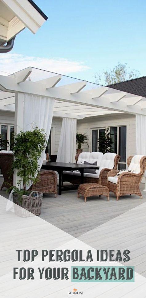 Photo of Top Backyard Pergola Ideas for Your Garden – KUKUN