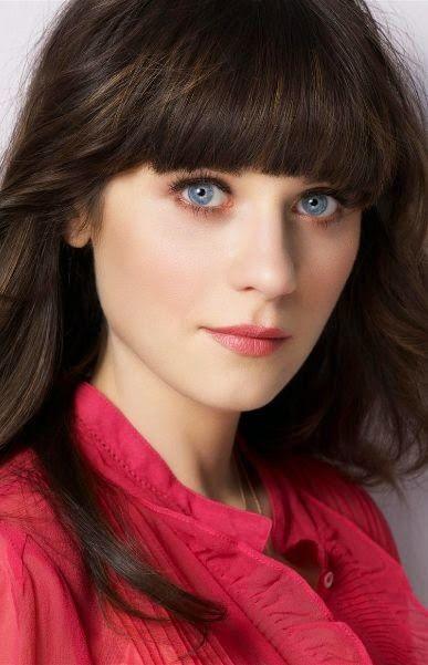 Follow Your Sunshine Female Role Models 1 Zooey Deschanel Zooey Deschanel Hair Makeup For Round Eyes Zooey Deschanel Eyes