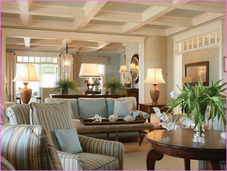 Cape Cod Style Decorating Ideas Farm House Living Room Home