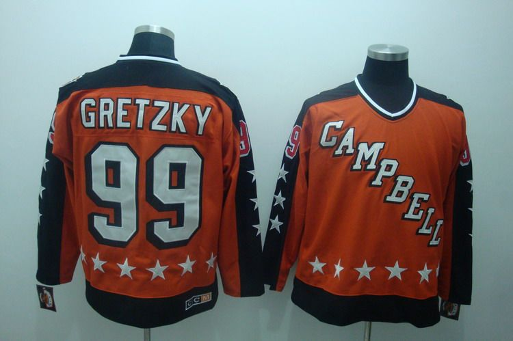 68f74c264  22.00 Reebok NHL Jerseys Edmonton Oilers Wayne Gretzky  99 Orange ...