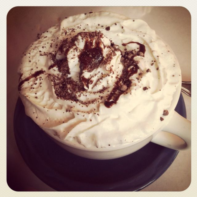 Starbucks needs this- Mexican mocha :)
