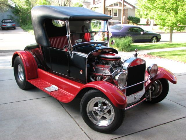 1927 Ford Model T Roadster Custom Hot Rod Street Rod Duel Carb For