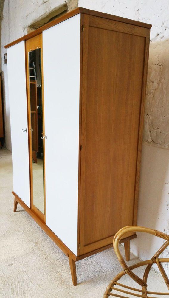 image of armoire penderie tag re vintage projet. Black Bedroom Furniture Sets. Home Design Ideas