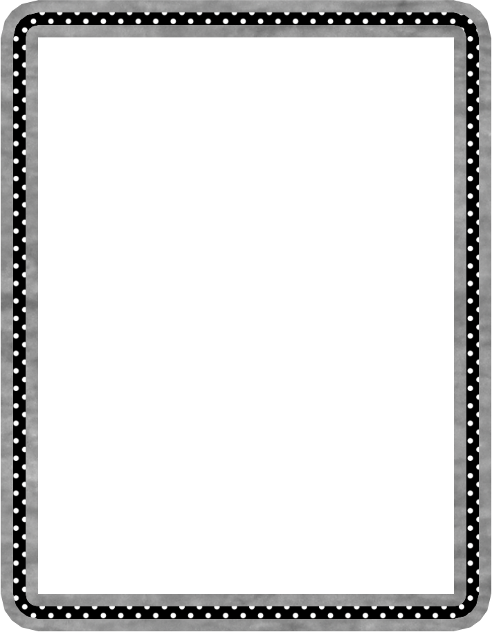 Frame zwart | Randen en patronen printables | Pinterest