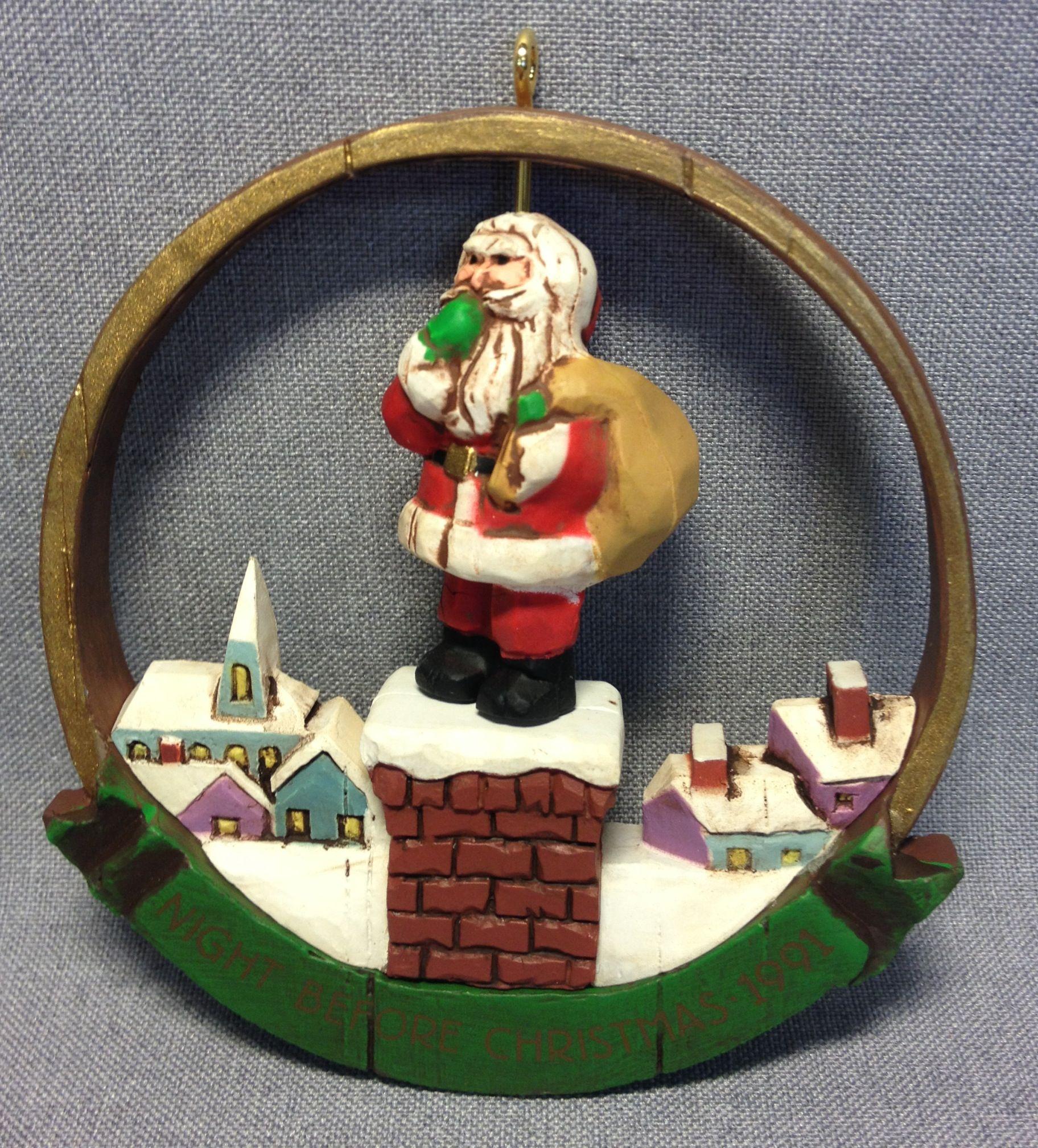 Night Before Christmas Hallmark 1991 Hallmark