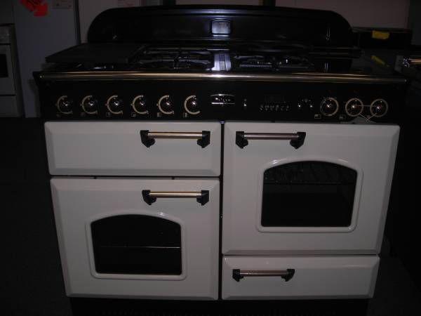 CUISINIERE PIANO GAZ Cm FALCON Cuisine Pinterest Piano - Cuisiniere 4 feux gaz four electrique catalyse pour idees de deco de cuisine