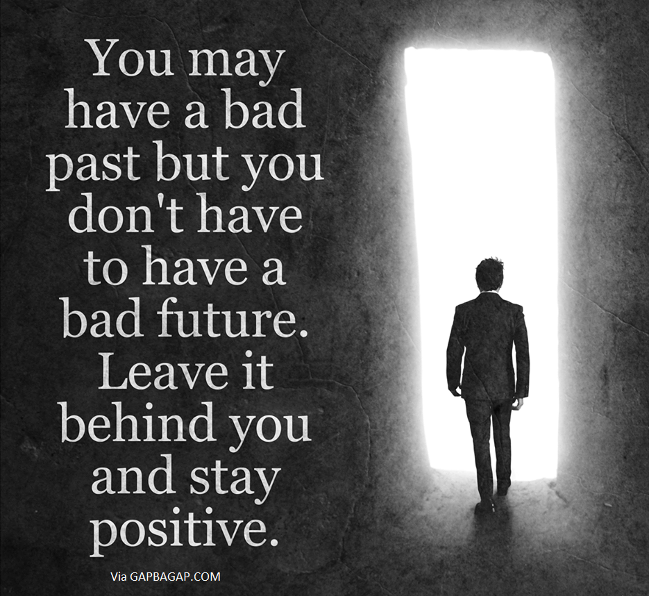 Well Said Quote About Past Vs Future Quotes To Live By Past Quotes Life Quotes To Live By