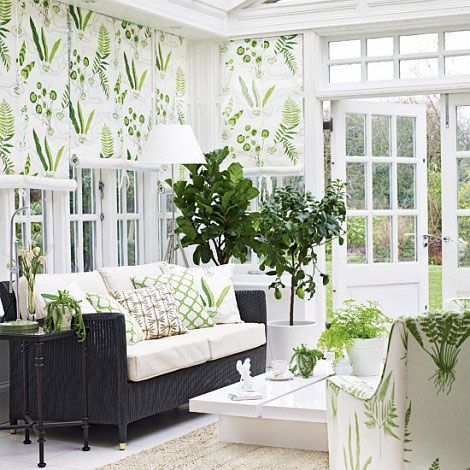 Looking To Create A Beautiful Garden Room Or Conservatory We Asked The Decorating Experts At Homes Gardens Magazine For Their Key Ways