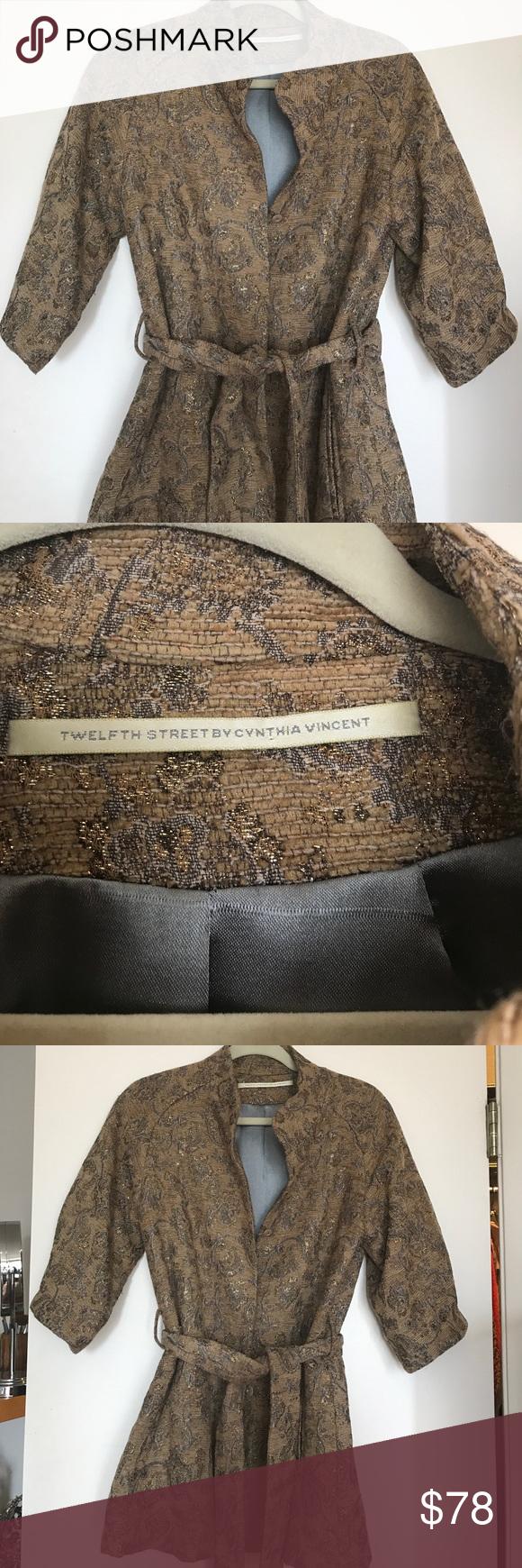 b49763891d21b3 Twelfth street Cynthia Vincent brocade jacket