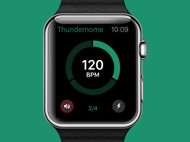 Metronome App For Apple Watch Apple Watch Apple Watch Design Apple