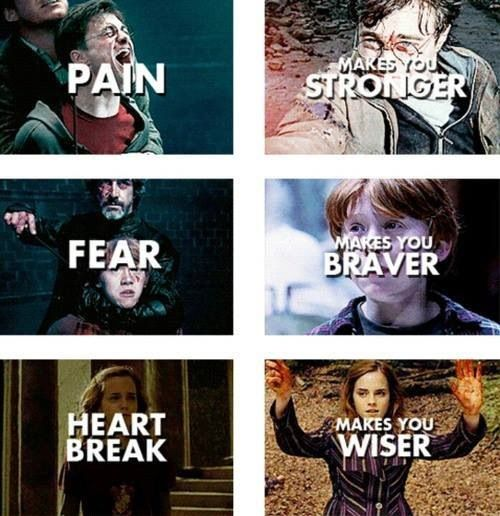Harry Potter is simply inspiring