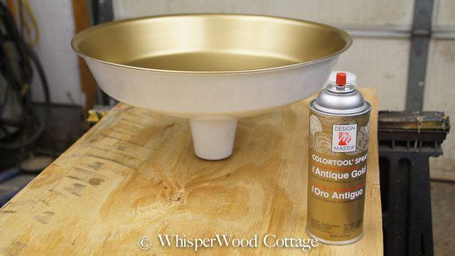 WhisperWood Cottage: Industrial Pendant Light Makeover (Wayfair DIY Blogger Challenge)