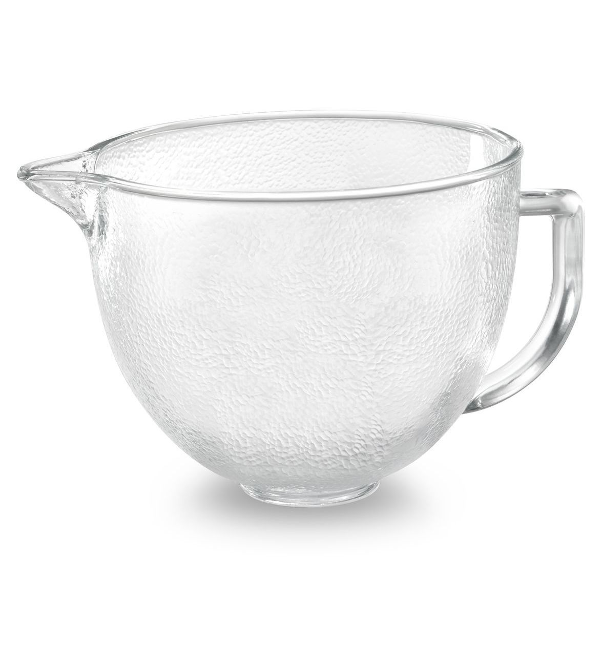 5 Qt Tilt Head Hammered Glass Bowl With Lid Kitchen Aid