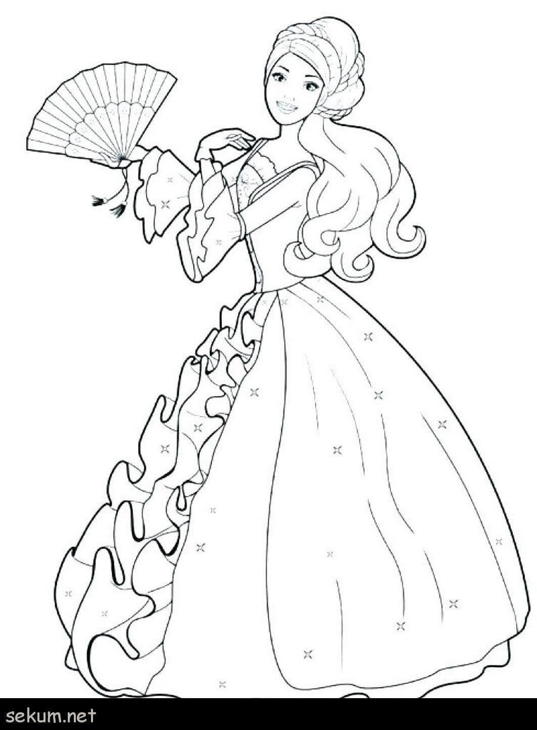 Exclusive Photo Of Barbie Princess Coloring Pages Davemelillo Com Barbie Coloring Pages Disney Princess Coloring Pages Barbie Coloring