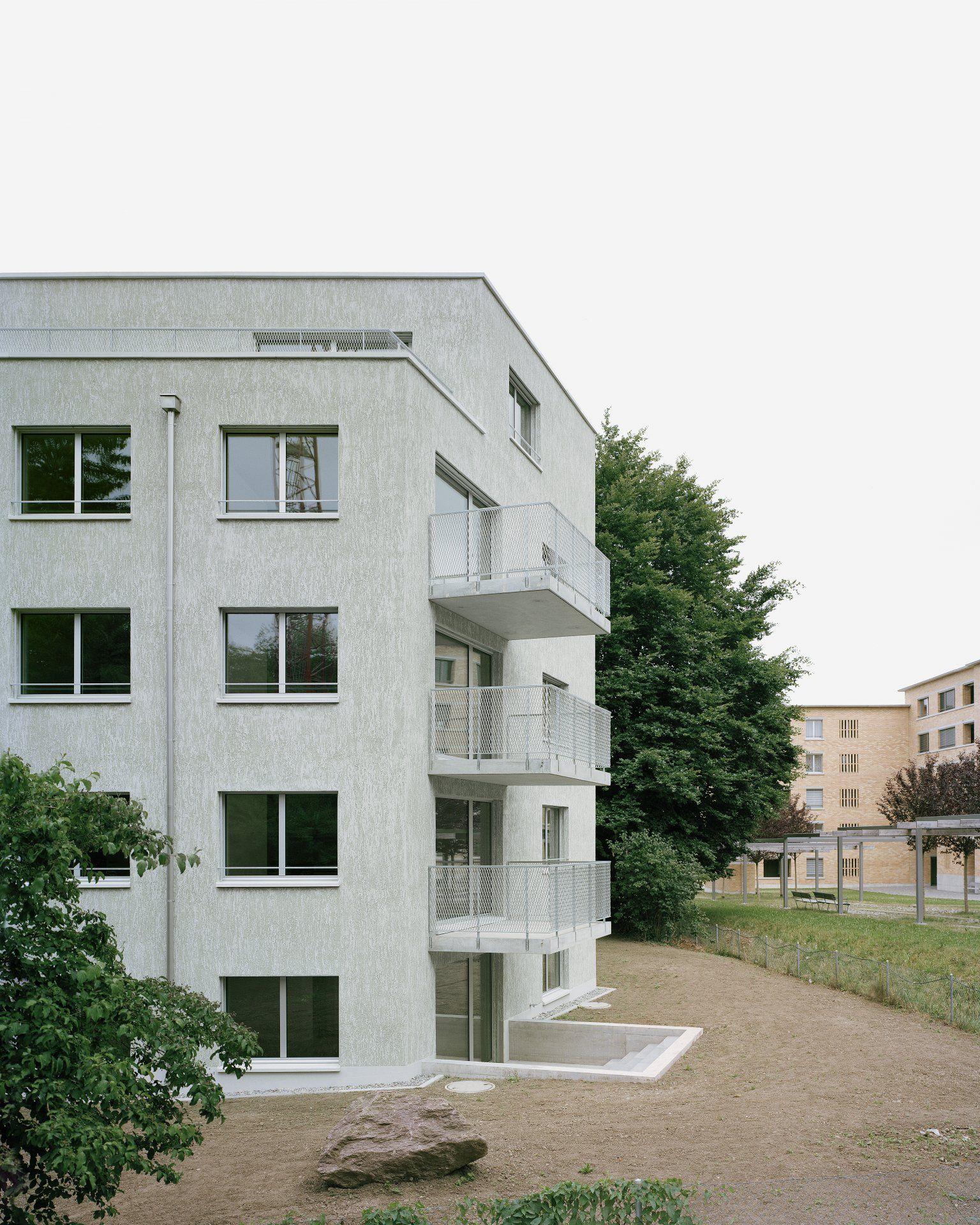 Kreuzwiesen Facade Design Apartment Architecture Architecture