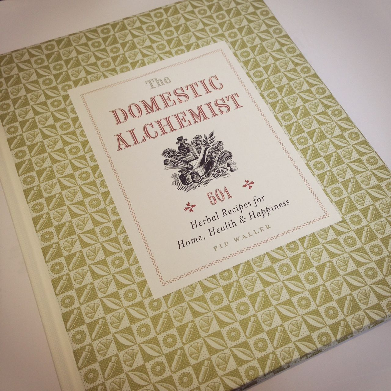 The Domestic Alchemist by Pip Waller herbs bible http