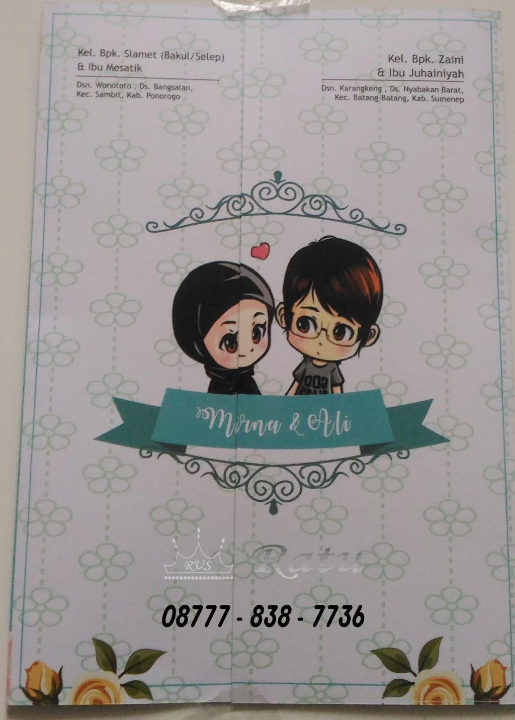 Gambar Kartun Muslimah Nikah Pernikahan, Kartun, Gambar
