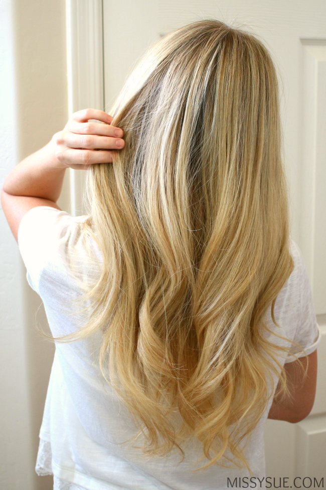 How to Blowdry Hair + Soft Waves #softcurls
