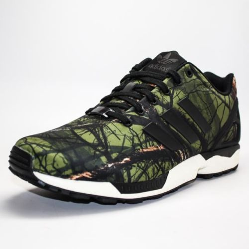 3fb2be17b6dc ... discount code for adidas originals zx flux black carbon deep forest  b34139 229.00 bd50f 19997