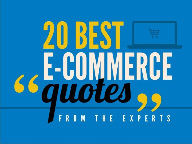 Best e-commerce quotes from the experts by InSync Solutions via - designer gerat smiirl facebook fans