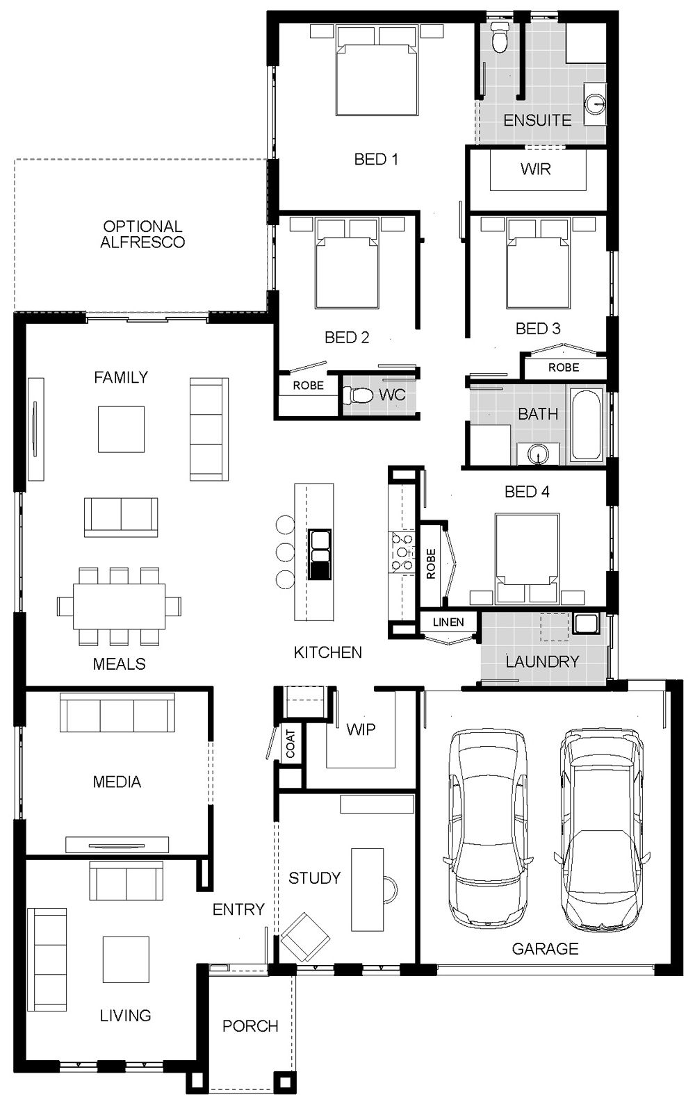 Adelphi 2 | Floor plan - my edit - might take a little effort, Merge ...