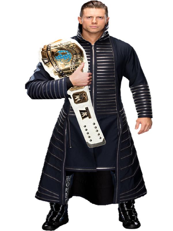 American Wrestler Michael Gregory Mizanin Inspired Halloween Costume Stylish Coat Coat Wwe Costumes