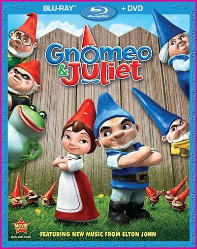Gnomeo and Juliet :) this is such a cute movie:)