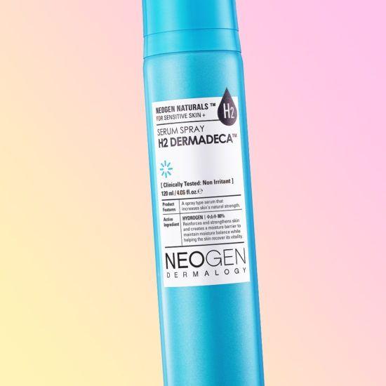 The Neogen H2 Dermadeca Serum Sprays Brightens Oily Skin