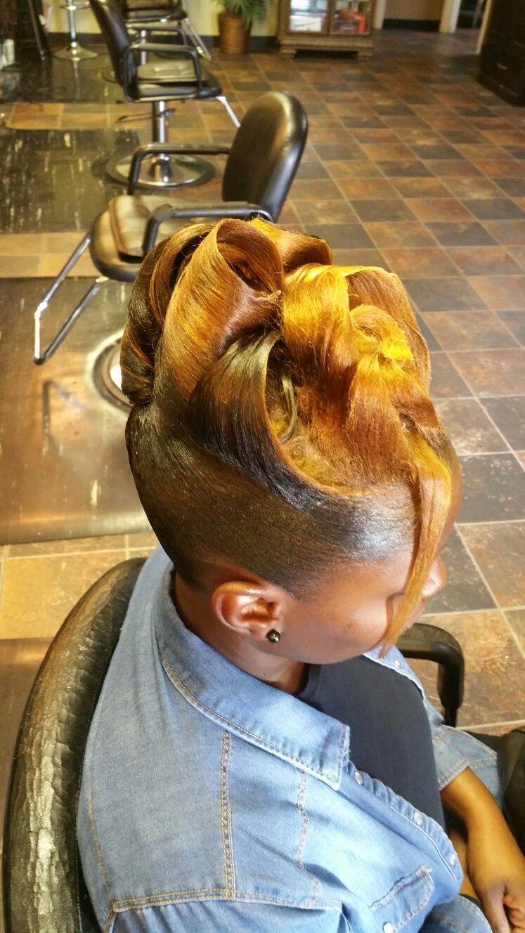 New Up Do Black Hair Bun African Hairstyles Bun Hairstyles