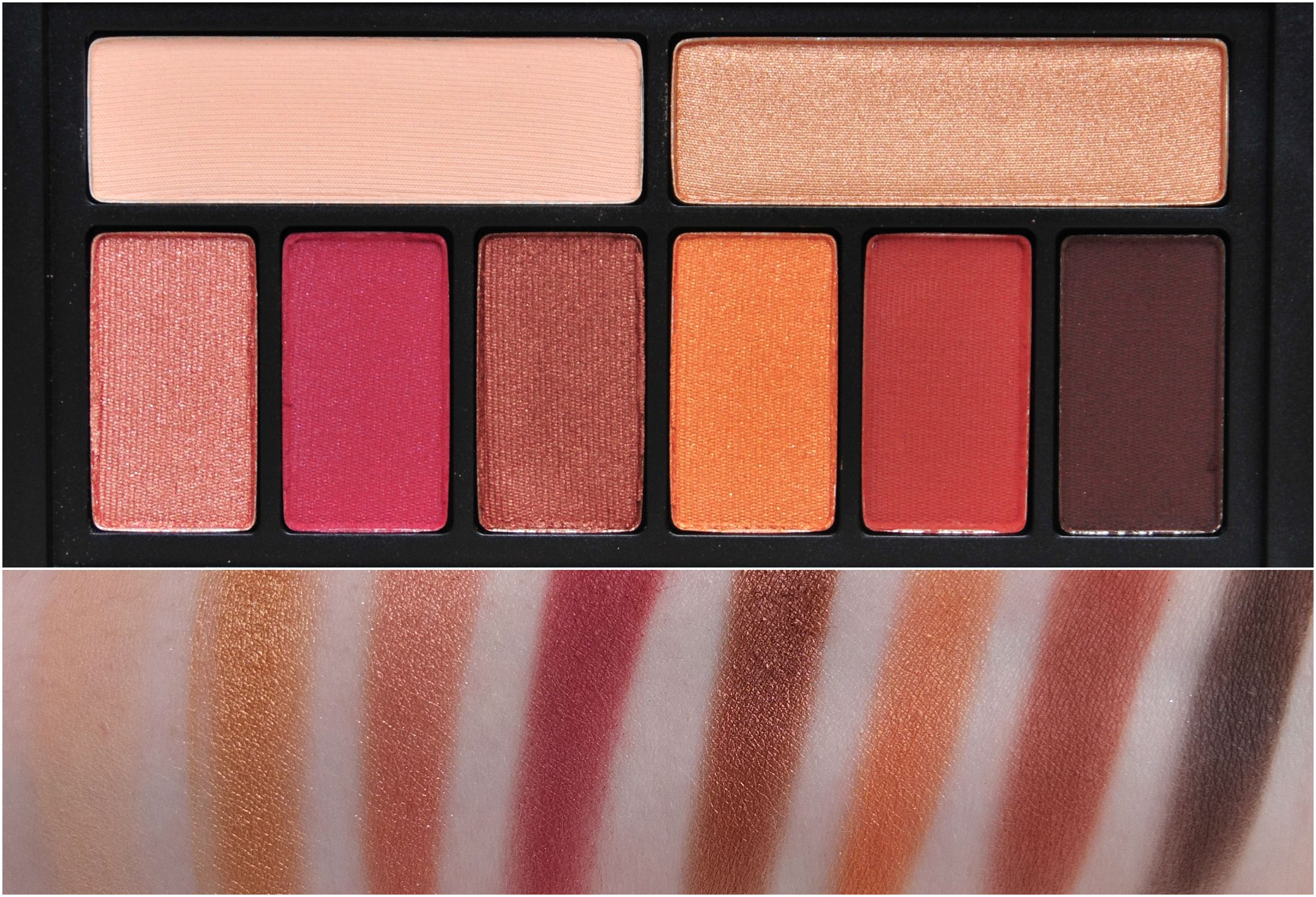 Quick Swatch Smashbox Cover Shot Eye Palettes Makeup Wardah Make Up Kit Professional Ablaze Swatches