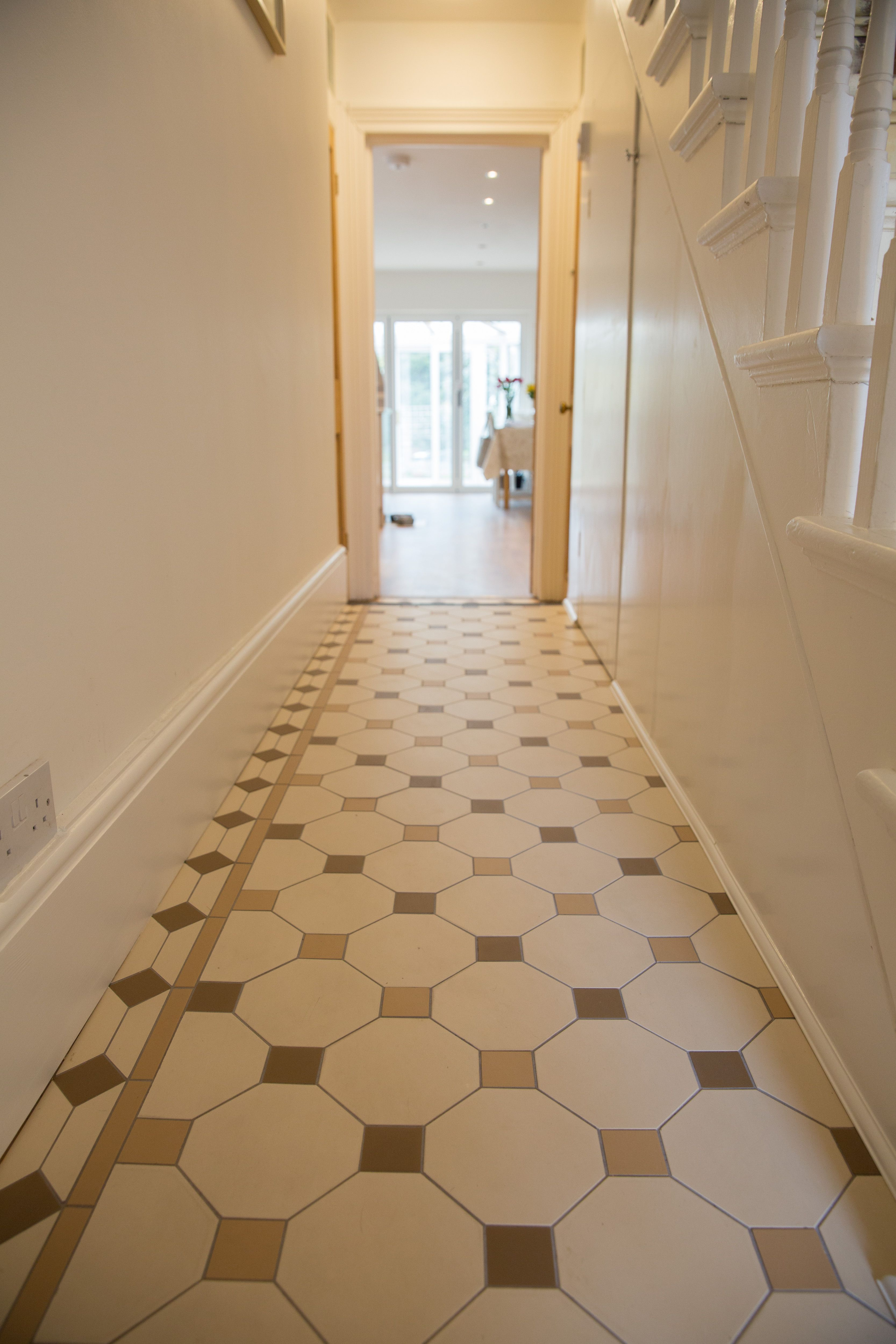 The Nottingham Pattrn Victorian Floor Tiles By Original Style Uk Tile Floor Victorian Tiles Geometric Tile Pattern