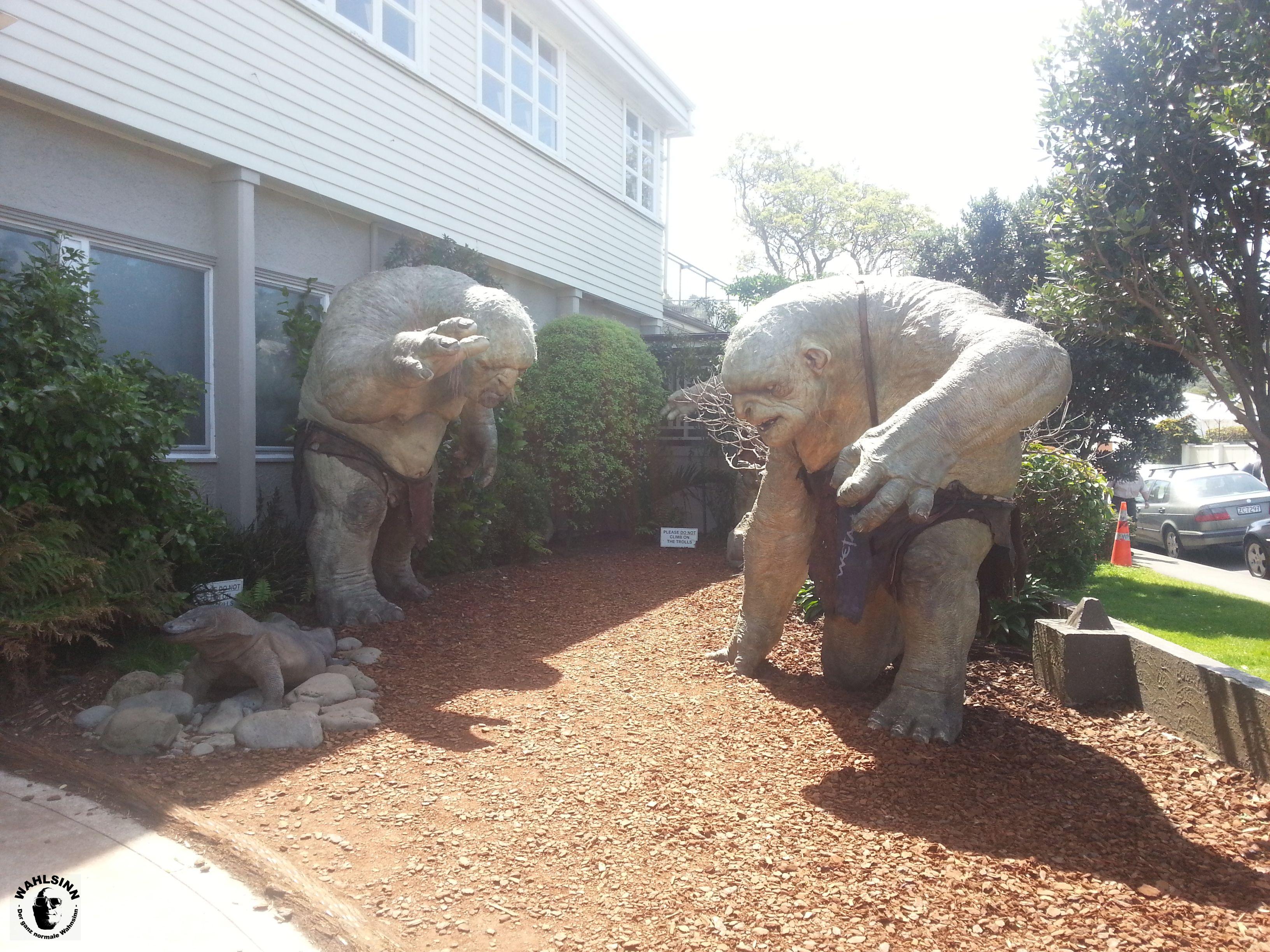 Bei Sonnenlicht werden Sie zu Stein - Trolle (Neuseeland)