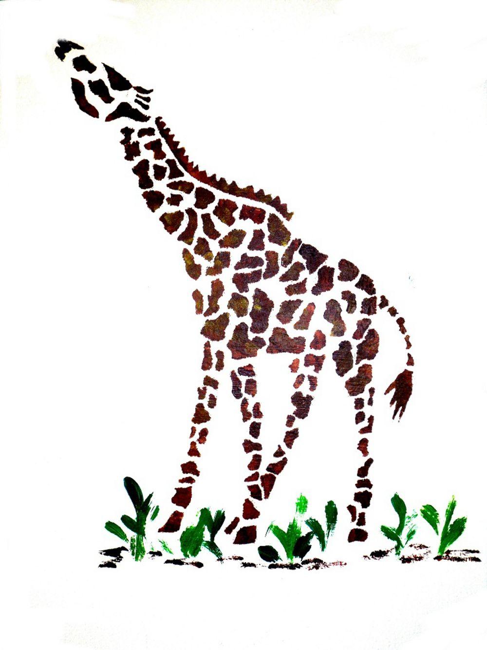 Wall painting stencils kids rooms giraffe wall stencil  giraffes cuz theyure awesome   pinterest