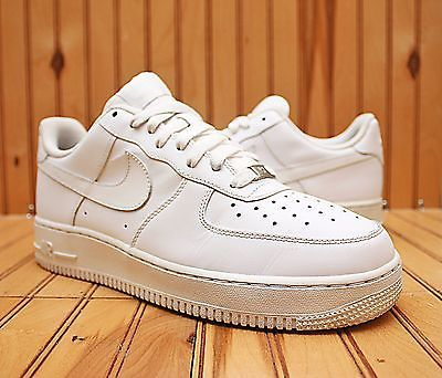 timeless design 8458d 24c18 2008 Nike Air Force 1  07 Size 9 - White On White - 315122 111
