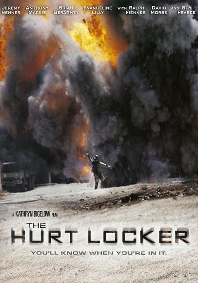 The Hurt Locker 2008 Jeremy Renner Anthony Mackie Brian Geraghty