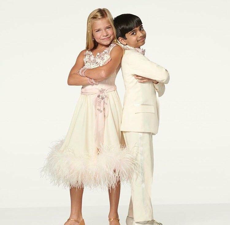 Kamri Akash Partner Dance Dancing With The Stars Bridesmaid Dresses