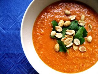 Sweet & Saucy: African Peanut Soup