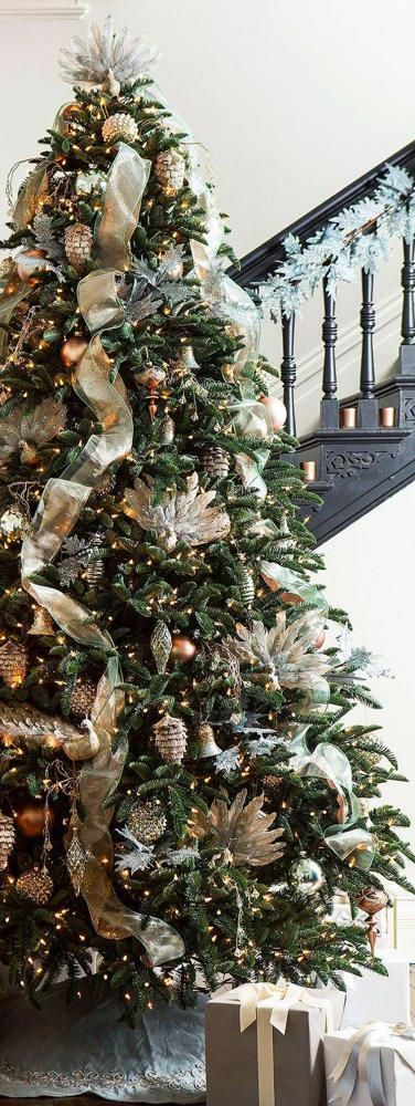 How To Put Ribbon On A Christmas Tree#christmas #put #ribbon #tree #ribbononchristmastreeideas